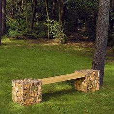 Original Garden Benches Adding Beautiful Accents to Backyard Designs