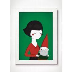 Decore sua casa com a personagem Amélie Poulain e relembre as histórias desse fantástico filme. Confira aqui a nossa linda ilustração.