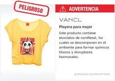 Vancl Playera   #Detox #Fashion