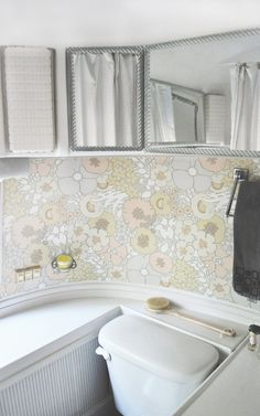 Our 1978 Airstream Sovereign Land Yacht Remodel: The Interior Tour – a small life Tiny House Swoon, Interior, Residential Remodel, Remodel, Couples Living, Airstream Bathroom, Airstream Remodel, Rv Remodel, Single Wide Remodel