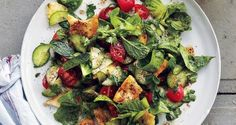 Fattoush (Arabic: فتوش, also fattush, fatush, fattoosh, and fattouche) is a Levantine bread salad made from toasted or fried pieces of pita bread (khubz 'arabi) combined with mixed greens and other vegetables, such as radishes and tomatoes.Fattoush belongs to the family of dishes known as fattat (plural) or fatta, which use stale flatbread as a …