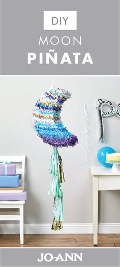 Pinata trend is huge at the moment, and it has become a staple of any party. Among many, many DIY pinata ideas, there is surely something for anyone's taste. Here, we bring the most fun pinata ideas to brighten up a girl party. Birthday Pinata, Birthday Table, Birthday Diy, 2nd Birthday Parties, Birthday Cakes, Party Table Decorations, Star Decorations, Birthday Decorations, Diy Galaxy