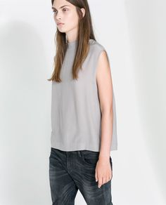 Image 1 of POLO NECK TOP from Zara