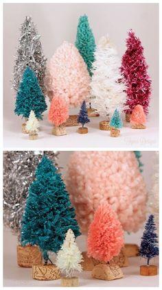 DIY Bottle Brush Trees | Canada DIY | Fynes Designs