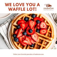 Try foodocom, food delivery service in Austria! Waffles, Pancakes, Vienna, Austria, Your Favorite, Delivery, Breakfast, Food, Linz