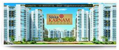 #sikkakarnamgreens offers a lavish lifestyle to people under their budget with high class apartments.