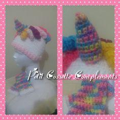 Unicorn hat. Crochet. Gorro unicornio tejido a crochet, para las niñas y las no tan niñas!