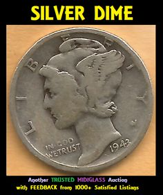Silver Dimes, Silver Coins, Old Coins Worth Money, Old Coins Value, Penny Values, Creative Money Gifts, Valuable Coins, Coin Worth, Error Coins