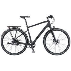 Das SCOTT SUB Evo 10 bietet eine sportliche Trekking-Geometrie für einfach jede Art von Trip, egal ob kurz oder lang. Dieses Bike hat eine Shimano Alfine 8-Gang-Riemenantrieb, integrierte Beleuchtung vorne und hinten und einen Custom Racktime-Gepäckträger und ist kompatibel mit Snap'it-Zubehör. Dieses Bike braucht Abenteuer.