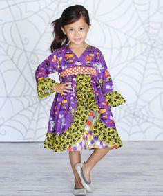 Look at this #zulilyfind! Monster Bash Jordan Dress - Infant, Toddler & Girls by Jelly the Pug #zulilyfinds