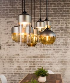 Currently obsessed with the mix and match pendant concept. These featured pendants act more as art, than as lighting – which is exactly how lighting should be used in great design! Pendant Light Fixtures, Pendant Lighting, Mix Match, Lighting Design, Pendants, Ceiling Lights, Create, Beautiful, Modern Kitchens
