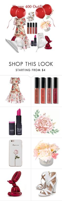 """""""Untitled #400"""" by earthelglowing on Polyvore featuring WithChic, Bobbi Brown Cosmetics, NYX, Côte Noire, Bernardaud and Miss KG"""
