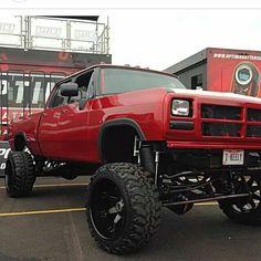 First generation cummins Jacked Up Trucks, Dodge Trucks, Jeep Truck, Custom Trucks, Cool Trucks, Pickup Trucks, Lifted Chevy, 1st Gen Cummins, Cummins Turbo Diesel