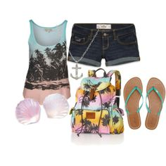 cute summer outfits for teens | this outfit also! ) Ok, so, this is a super cute outfit for the Summer ...