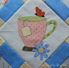 Cozy Afternoon BOM Block 3 by Julie Cefalu @ The Crafty Quilter. BOM designed by Jacquelynne Steves