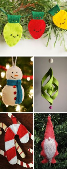 DIY 2016/2017  To get you started we recommend these t  DIY 2016/2017 Description To get you started we recommend these top 10 handmade felt ornaments that will give your Christmas tree the warmth and charm of a cozy and loving home.