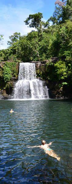 Waterfall in Koh Kood island, Thailand