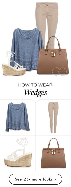 """Little details"" by kingsamuel on Polyvore featuring 7 For All Mankind, Gap, Dolce&Gabbana and Chloé"