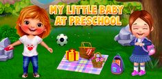 #PreSchoolGame My Little Baby At Preschool is the perfect for #Children who need a fun and entertaining #EducationalGame to #Play.