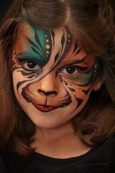 Mark Reid: Fantasy Cat, face painting