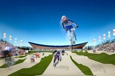 Olympics 2012-London Velodrome