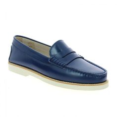 TRIVER FLIGHT Hoedic vernice-old-bleu, Chaussure Femme chez Bessec  Chaussures 2b9fc8e284aa