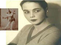 Rifka Levi (Riki Levi) - prva sarajevska balerina. Rifka Levi (Riki Levi), first ballerina from Sarajevo