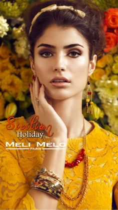 Meli Melo New Summer Campaign 2014 Paris Summer, Summer Campaign, Meli Melo, Sicilian, Summer Collection, Holiday, Jewelry, Vacations, Jewlery