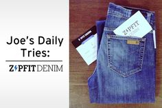 Find the perfect pair of jeans with ZipFit