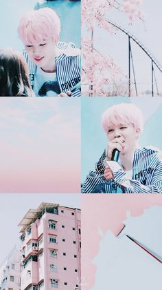 Hair pink jimin aesthetic for 2019 Seokjin, Namjoon, Taehyung, Bts Aesthetic, Pink Aesthetic, Aesthetic Collage, Aesthetic Fashion, Jung So Min, Park Ji Min