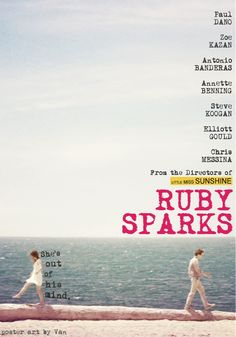 Ruby Sparks- definitely makes my top five list of best indie films. Paul Dano and Zoe Kazan together - couldn't be better Movie Posters For Sale, Cinema Posters, Great Films, Good Movies, Best Indie Movies, Cult, Alternative Movie Posters, Film Music Books, Romance