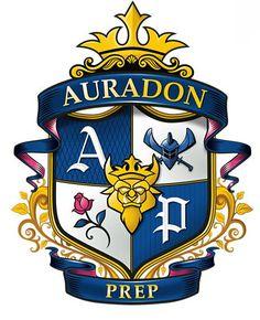 """Disney """"Descendants"""" - Auradon Prep emblem"""