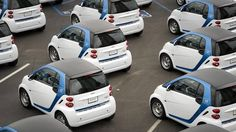 North American society was built around cars. But do services like Car2Go herald a future free of private ownership—and drivers?