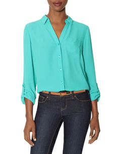 Just ordered this :) The Aqua Blue Ashton Blouse from THELIMITED.com #TheLimited #LTDAshton