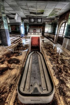 Lost | Forgotten | Abandoned | Displaced | Decayed | Neglected | Discarded | Disrepair | The Bowling Alley