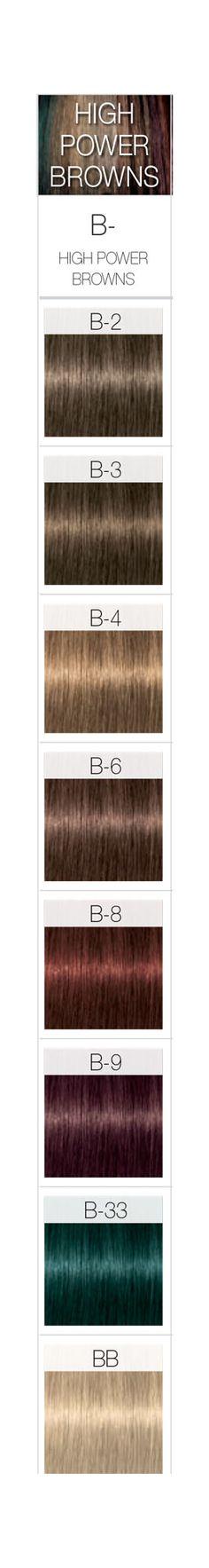 Elegant Igora Hair Color Chart