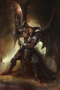 Morbid Fantasy • Alkrom, The Lord of the Night by Antonio J....