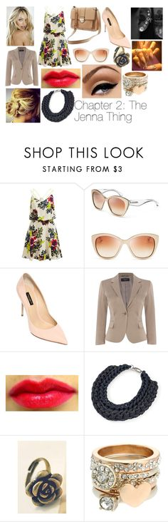 """Bad Intentions/2"" by xxdreamwalkerxx ❤ liked on Polyvore featuring Vila Milano, Dolce&Gabbana, Banana Republic, Victoria's Secret, Weekend Max Mara, Alienina and Lipsy"