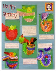 Mrs. Byrd's Learning Tree: Melt Art Fun!