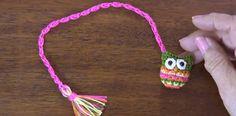 Cómo tejer un marcador de libros con búho a crochet