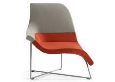 "UNStudio's Gemini chair ""allows a variety of seating positions"""