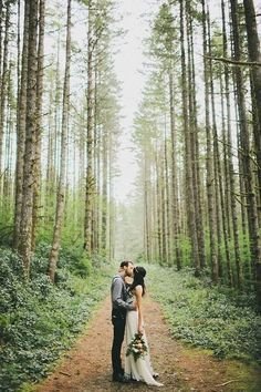 Elusive Elopement - Whimsical Forest Weddings Fit for a Fairytale Ending - Photos