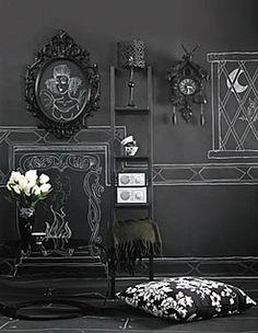 Gray room inspiration.
