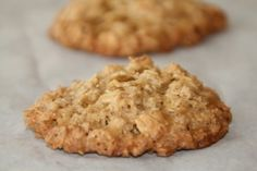 Flourless Caramel Oat Cookies (GF) from Shockingly Delicious