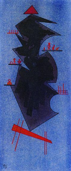 The Athenaeum - Shadow (Wassily Kandinsky - )