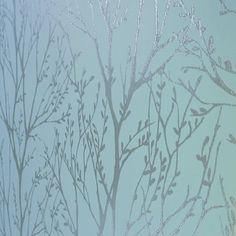 I Love Wallpaper™ Shimmer Wallpaper Teal / Silver (ILW980006) - I Love Wallpaper™ from I love wallpaper UK