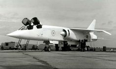 One and only TSR-2, what could have been except for a lack of political will..