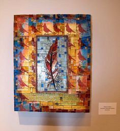 Mosaic Work By Rebecca Collins   Flickr - Photo Sharing by Rebecca Collins