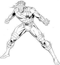 Superhero Coloring Pages For Kids Marvel
