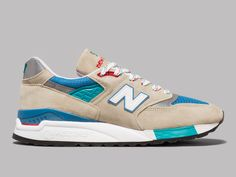 New Balance M998CSB Made In USA (Grey / Blue)